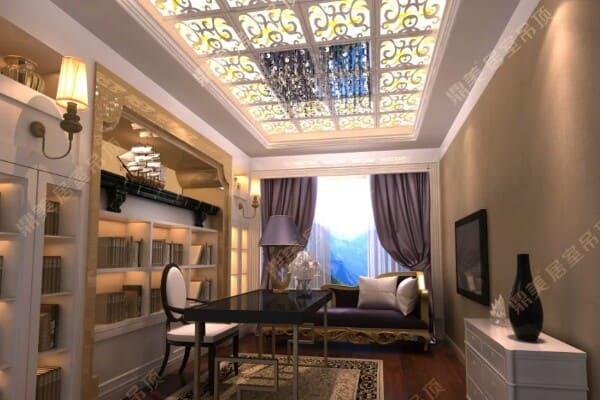 Многоуровневые натяжные потолки в зал, гостиной