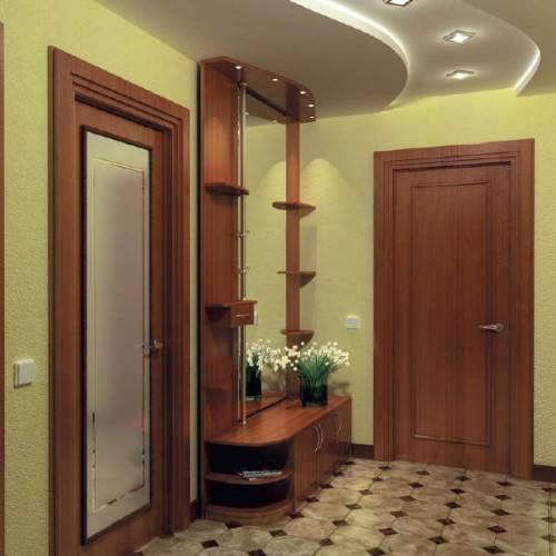 Натяжные потолки в коридоре, прихожей